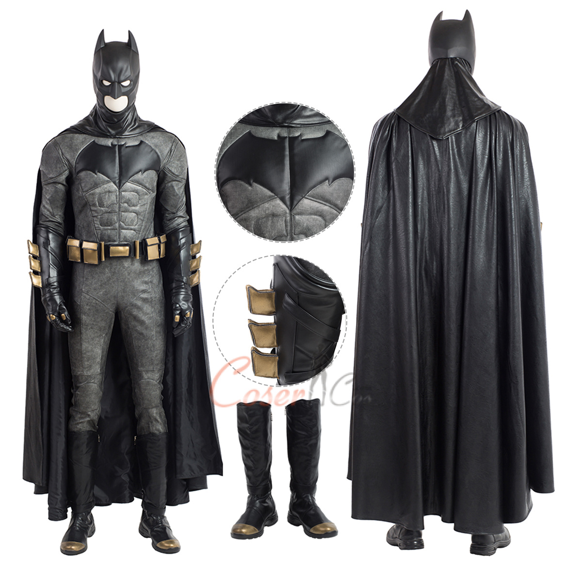 Batman Justice League Cosplay Cape and Boots Custom Made Halloween