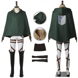 Eren Jaeger Costume Attack on Titan Cosplay High Quality Full Set
