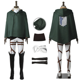 Levi Ackerman Costume Attack on Titan Cosplay High Quality Full Set