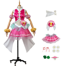 Cure Yell Costume HUGtto! Pretty Cure Cosplay Nono Hana