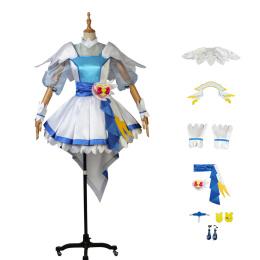 Cure Ange Costume HUGtto! Pretty Cure Cosplay Yakushiji Saaya