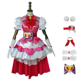 Cure Macherie Costume HUGtto! Pretty Cure Cosplay Aisaki Emiru