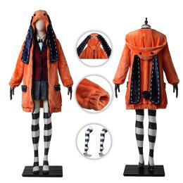 Runa Yomozuki Costume Kakegurui-Compulsive Gambler Cosplay