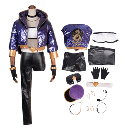 The Rogue Assassin Costume League Of Legends Cosplay Akali Sexy Outfit For Women Halloween