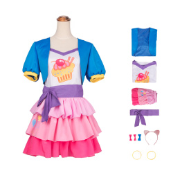 Pinkie Pie Costume My Little Pony: Equestria Girls Cosplay