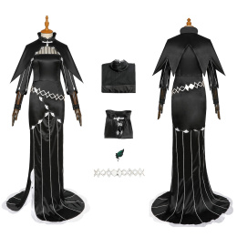 Echidna Costume Re:Life in a different world from zero Cosplay Black Dress
