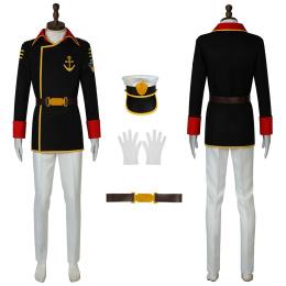 Susumu Kodai Costume Space Battleship Yamato 2202: Warriors Of Love Cosplay Uniform
