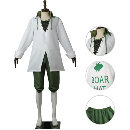 Meliodas Costume The Seven Deadly Sins: Revival of The Commandments Cosplay Dragon's Sin of Wrath Outfits