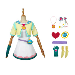 Hagoromo Lala Costume Star☆Twinkle Pretty Cure Cosplay