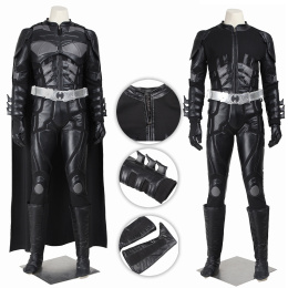 Batman Costume The Dark Knight Rises Cosplay Bruce Wayne Deluxe Version Full Set