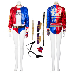 Harley Quinn Costume Suicide Squad Cosplay