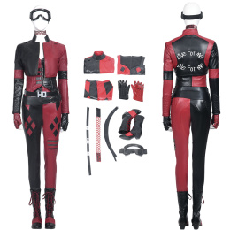 Harley Quinn Costume The Suicide Squad (2021) Cosplay Full Set