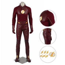 Bartholomew Henry Costume The Flash Season 2 Cosplay Barry Allen Full Set Fpr Halloween