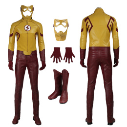 Wally West Costume The Flash Season 3 Cosplay Full Set