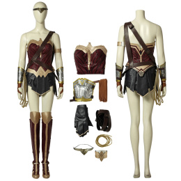 Wonder Woman Costume Wonder Woman Cosplay Diana Prince Full Set Soft Material