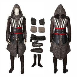 Callum Lynch Costume Assassin's Creed Cosplay Deluxe Version Full Set