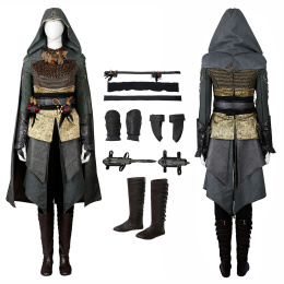 Sophia Rikkin Costume Assassin's Creed Cosplay Halloween Full Set