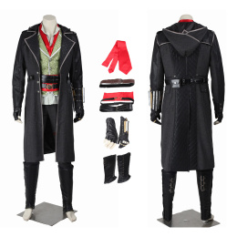 Jacob Frye Costume Assassin's Creed Syndicate Cosplay Full Set