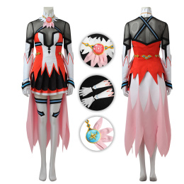 Hoshitsuki Miki Costume Battle Girl High School Cosplay New Fashion Suit