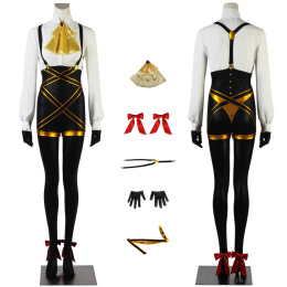 Violetta Noire Costume COMPASS Cosplay For Halloween Party