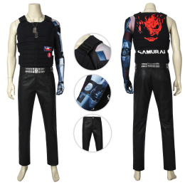 Desmond Miles Costume Cyberpunk 2077 Cosplay Party Outfits