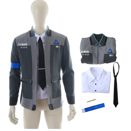 Conner Costume Detroit Become Human Cosplay Man Outfit