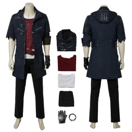 Nero Costume Devil May Cry 5 Cosplay Outfit Full Set