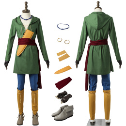 Erik Camus Costume Dragon Quest XI: Echoes of an Elusive Age Cosplay Full Set