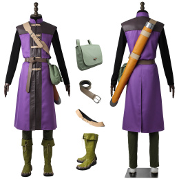 Hero Luminary Costume Dragon Quest XI: Echoes of an Elusive Age Cosplay Full Set