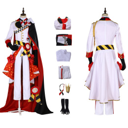 Riddle Rosehearts Costume Disney Twisted Wonderland Cosplay Christmas Halloween Party Outfit