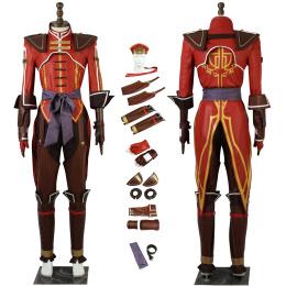 Lu Xun Costume Shin Sangokumusou 8 Cosplay Custom Made