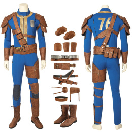 Male Preset Costume FALLOUT 76 Cosplay High Quality Full Set