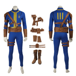 Nate (Male) Costume Fallout 4 Cosplay High Quality Full Set
