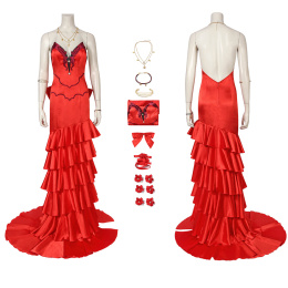 Aerith Gainsborough Costume Final Fantasy VII Remake Cosplay Party Dress