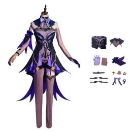 Fischl Costume Genshin Impact Cosplay High Quality