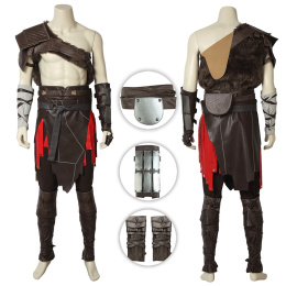 Kratos Costume God of War Cosplay Custom Made