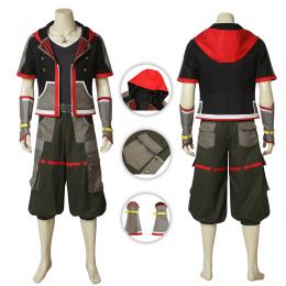 Sora Costume Kingdom Hearts III Cosplay Custom Made
