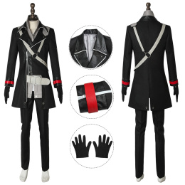 Rean Schwarzer Costume The Legend of Heroes: Trails of Cold Steel IV - The End of Saga Cosplay Black Outwear