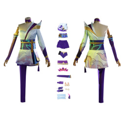 Spirit Blossom Costume League of Legends Cosplay Riven Outfit