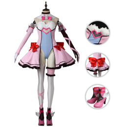 D.Va Costume Overwatch Cosplay Hana Song Full Set New Fashion Suit