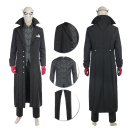 Joker Kaitou Costume Anime Persona 5 Cosplay Coat Halloween