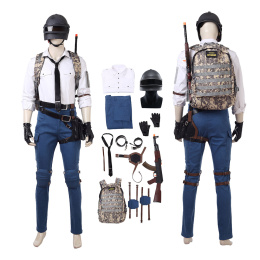 Player shirt suit Costume Playerunknown's Battlegrounds PUBG Cosplay Outfit Customize Full Set