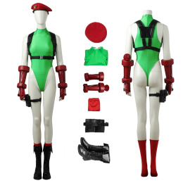 Cammy White Costume Street Fighter V Cosplay Full Set