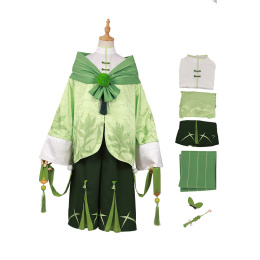 Sweet Green Rice Balls Costume The Tale of Food Cosplay