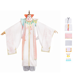 Cherry Bi Luo Costume The Tale of Food Cosplay Halloween Dress For Women