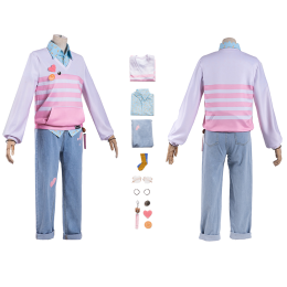 Geely shrimp Costume The Tale of Food Cosplay Halloween Christmas Clothes