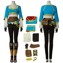 Princess Zelda Costume The Legend of Zelda: Breath of the Wild Cosplay For Girls