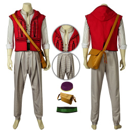Aladdin Costume 2019 Movie Aladdin Cosplay High Quality Outfit
