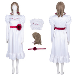 Annabelle Costume Annabelle Cosplay White Fancy Dress