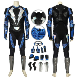 Jefferson Michael Pierce Costume Black Lightning Cosplay Outfit